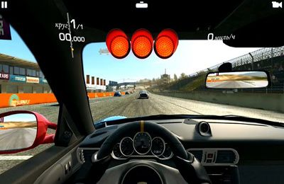 Capturas de pantalla del juego Real Racing 3 para iPhone, iPad o iPod.