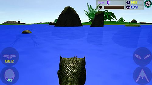 Screenshots of the Real snake: Natural hunting game for iPhone, iPad or iPod.