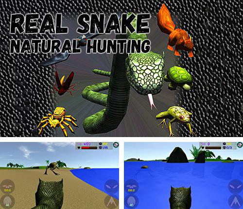 除了 iPhone、iPad 或 iPod 游戏,您还可以免费下载Real snake: Natural hunting, 。