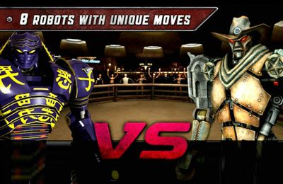 Descarga gratuita de Real Steel para iPhone, iPad y iPod.