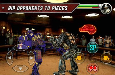Capturas de pantalla del juego Real Steel para iPhone, iPad o iPod.
