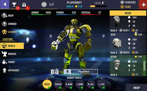 Descarga gratuita de Real steel: Champions para iPhone, iPad y iPod.