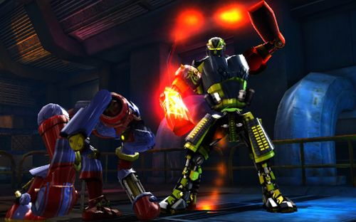 Capturas de pantalla del juego Real steel: Champions para iPhone, iPad o iPod.