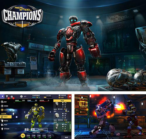 In addition to the game Rpg Asdivine menace for iPhone, iPad or iPod, you can also download Real steel: Champions for free.
