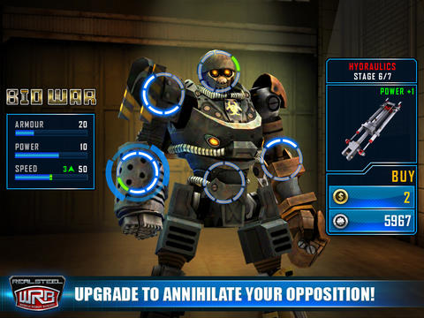 Download Real Steel World Robot Boxing iPhone free game.