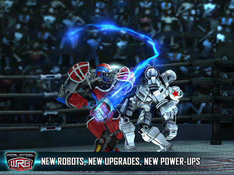 Kostenloser Download von Real Steel World Robot Boxing für iPhone, iPad und iPod.