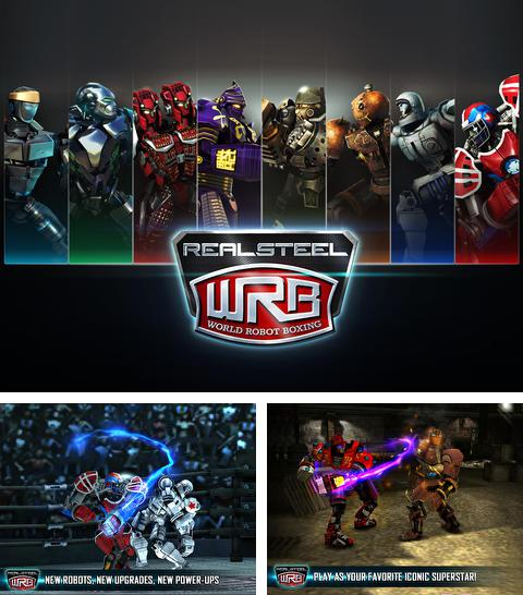 In addition to the game Tank invaders: War against terror for iPhone, iPad or iPod, you can also download Real Steel World Robot Boxing for free.