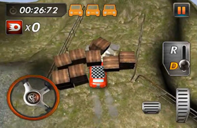 Screenshots of the RealParking3D Cappuccino game for iPhone, iPad or iPod.