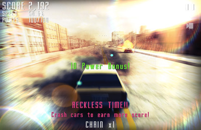 Capturas de pantalla del juego Reckless Hero para iPhone, iPad o iPod.