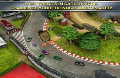Capturas de pantalla del juego Reckless Racing 2 para iPhone, iPad o iPod.