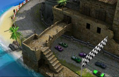 Геймплей Reckless Racing 2 для Айпад.