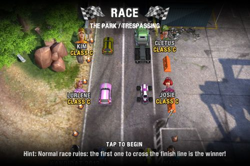 Download Reckless racing 3 iPhone free game.