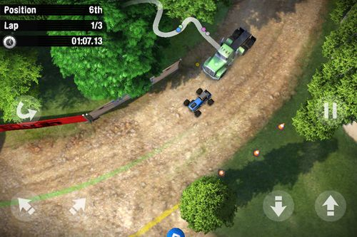 Screenshots of the Reckless racing 3 game for iPhone, iPad or iPod.