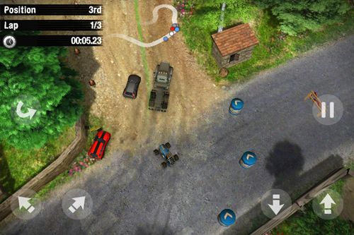 Écrans du jeu Reckless racing 3 pour iPhone, iPad ou iPod.