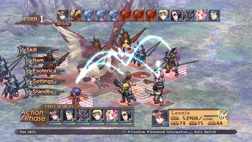 Гра Record of Agarest war zero для iPhone