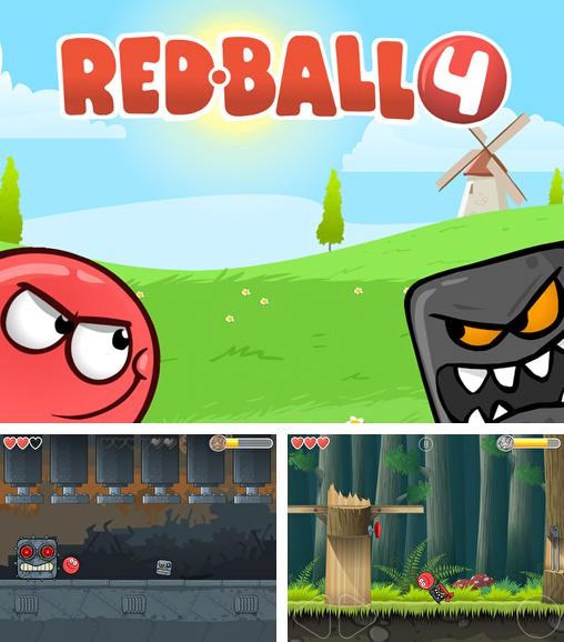 In addition to the game Sprinkle: water splashing fire fighting fun! for iPhone, iPad or iPod, you can also download Red ball 4 for free.