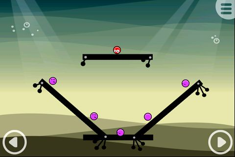 Descarga gratuita de Red balls of Goo para iPhone, iPad y iPod.