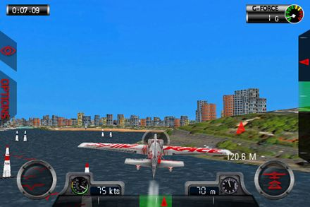 Screenshots vom Spiel Red Bull air race World championship für iPhone, iPad oder iPod.