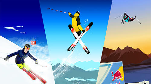 iPhone、iPad 或 iPod 版Red Bull free skiing游戏截图。