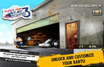 Descarga gratuita de Red Bull Kart Fighter 3 - Unbeaten Tracks para iPhone, iPad y iPod.