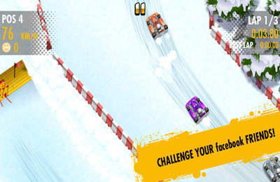 Screenshots do jogo Red Bull Kart Fighter 3 - Unbeaten Tracks para iPhone, iPad ou iPod.