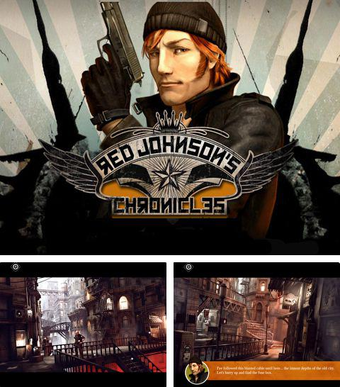 除了 iPhone、iPad 或 iPod 游戏,您还可以免费下载Red Johnson's сhronicles, 。
