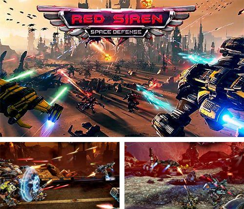 除了 iPhone、iPad 或 iPod 游戏,您还可以免费下载Red siren: Space defense, 。