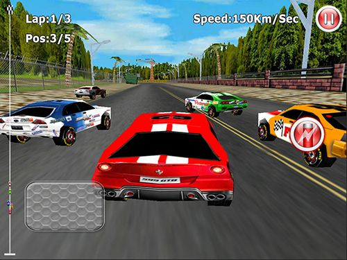 Screenshots of the Redline: Race game for iPhone, iPad or iPod.