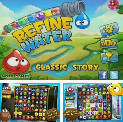 In addition to the game Hello, stranger! for iPhone, iPad or iPod, you can also download Refine Water for free.