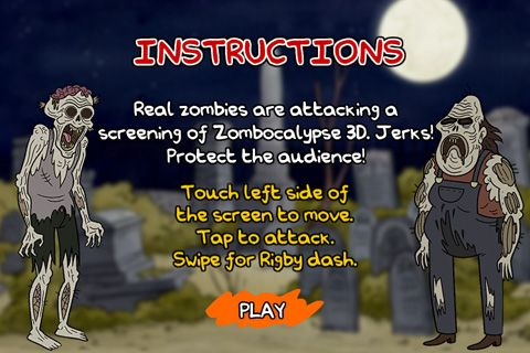 Download Regular show: Nightmare-athon iPhone free game.