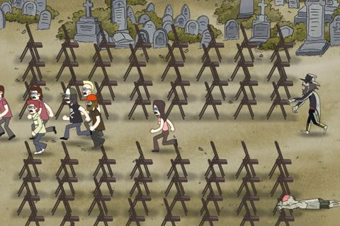 Screenshots of the Regular show: Nightmare-athon game for iPhone, iPad or iPod.