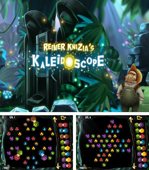 In addition to the game Space op! for iPhone, iPad or iPod, you can also download Reiner Knizia's Kaleidoscope for free.