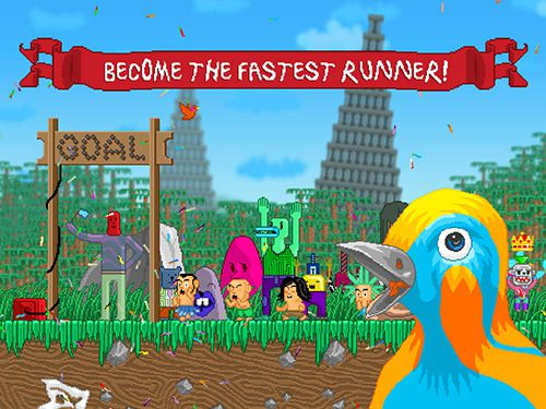 Download Rerunners: Race for the world iPhone free game.