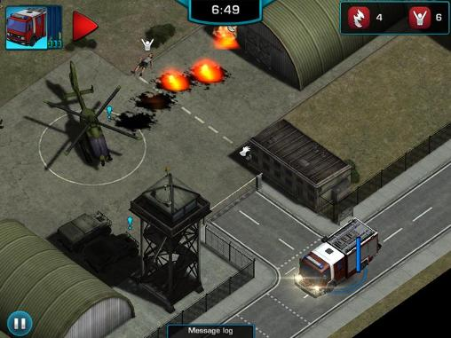 Capturas de pantalla del juego Rescue: Heroes in action para iPhone, iPad o iPod.