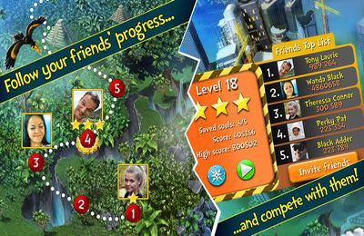Screenshots of the Rescue Me - The Adventures Premium game for iPhone, iPad or iPod.