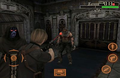 Screenshots do jogo Resident Evil 4 para iPhone, iPad ou iPod.