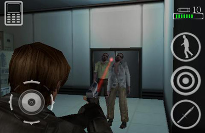 Capturas de pantalla del juego Resident Evil: Degeneration para iPhone, iPad o iPod.