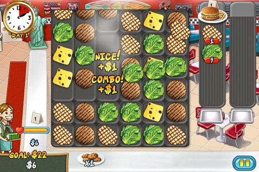 Download Restaurant rush iPhone free game.