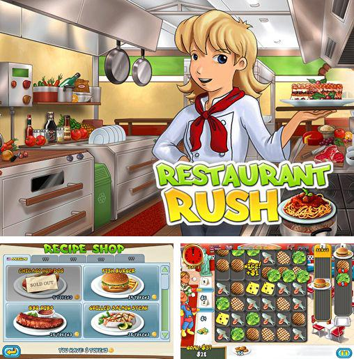 In addition to the game Garfield chef: Game of food for iPhone, iPad or iPod, you can also download Restaurant rush for free.