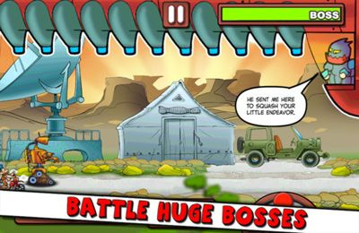 Screenshots of the Retrobot game for iPhone, iPad or iPod.