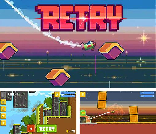 In addition to the game Interlocked for iPhone, iPad or iPod, you can also download Retry for free.