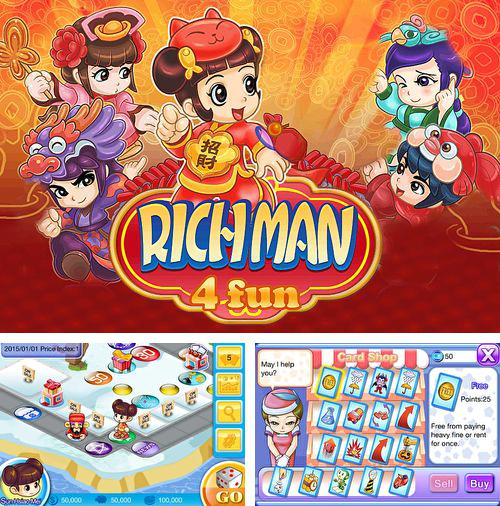 In addition to the game Scaredy Cat 3D Deluxe for iPhone, iPad or iPod, you can also download Richman 4 fun for free.