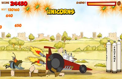 Download Ride 'Em Rigby - Regular Show iPhone free game.