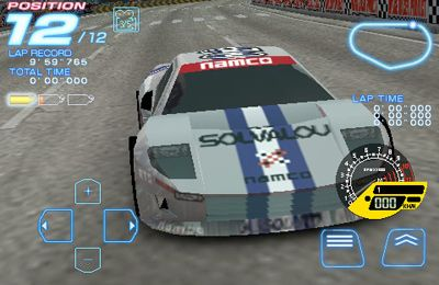 Screenshots vom Spiel RIDGE RACER ACCELERATED für iPhone, iPad oder iPod.