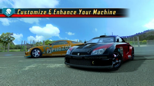 Kostenloses iPhone-Game Ridge Racer: Windschatten herunterladen.