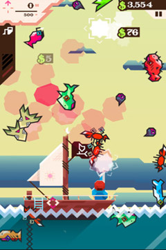 Гра Ridiculous Fishing - A Tale of Redemption для iPhone