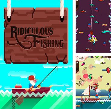 In addition to the game Ridiculous Fishing - A Tale of Redemption for iPad, you can download Ridiculous Fishing - A Tale of Redemption for iPhone, iPad, iPod for free.