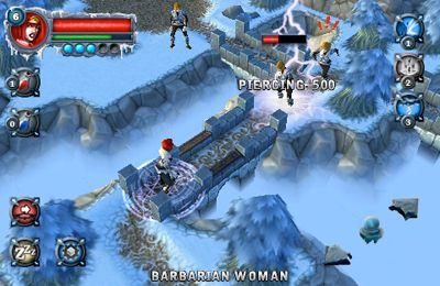 Screenshots do jogo Rimelands: Hammer of Thor para iPhone, iPad ou iPod.