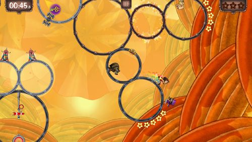 Capturas de pantalla del juego Ring Run Circus para iPhone, iPad o iPod.
