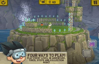 Capturas de pantalla del juego Rinth Island para iPhone, iPad o iPod.